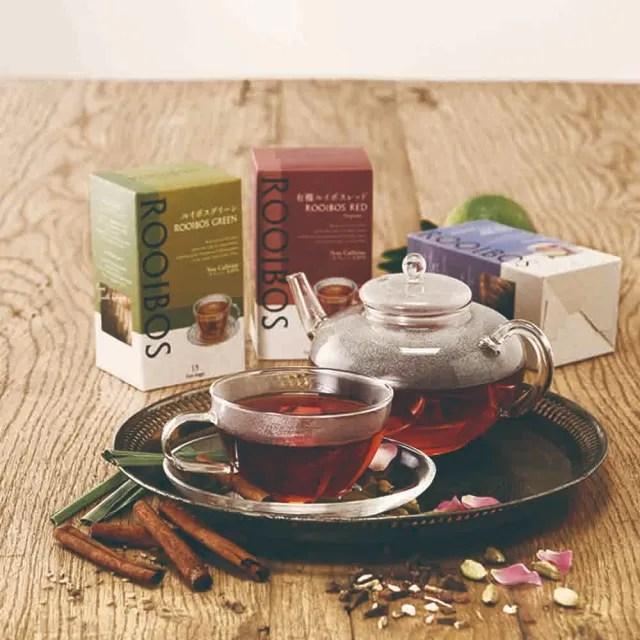 【日本生活之木】南非國寶茶15入裝 三口味任選一(印度奶茶 伯爵 香草摩卡)