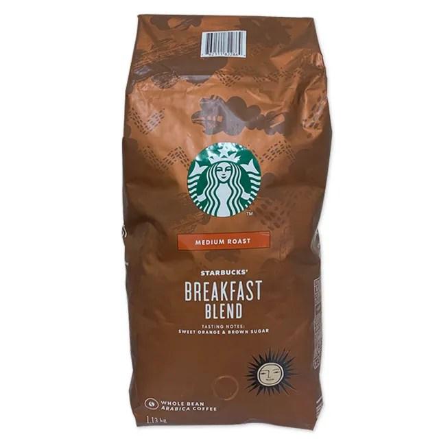 【STARBUCKS 星巴克】Starbucks 早餐綜合咖啡豆(1.13公斤)