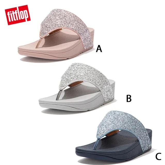 【FitFlop】OLIVE GLITTER MIX TOE-POST SANDALS 閃耀亮片造型夾腳涼鞋-女(共三色)