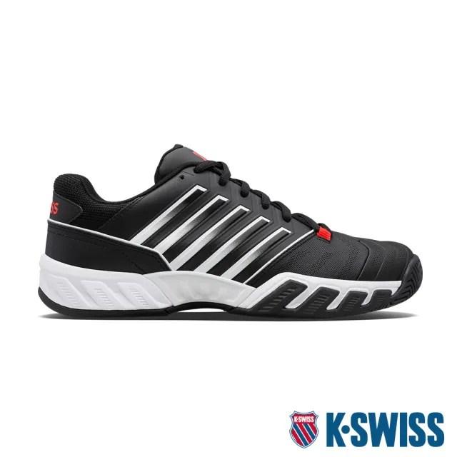 【K-SWISS】輕量進階網球鞋 Bigshot Light 4-男-黑(06989-043)
