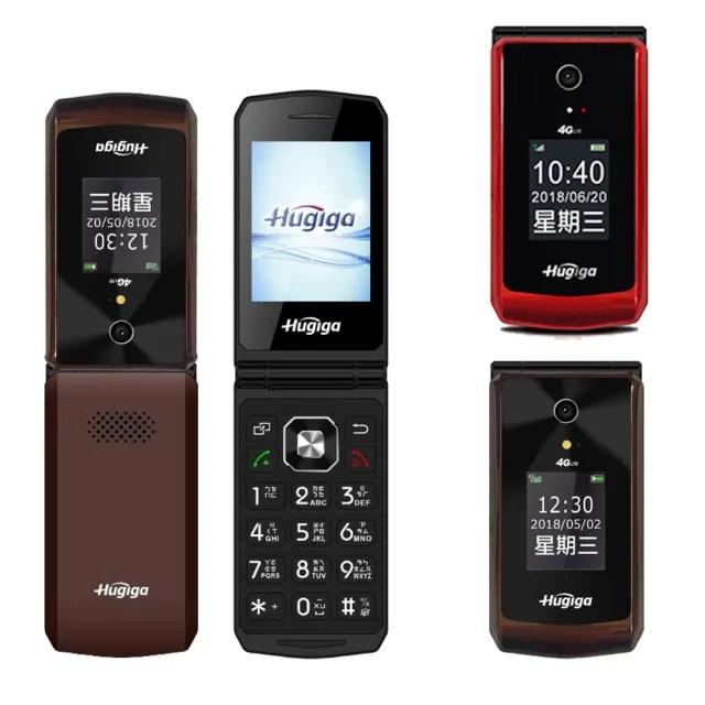 【Hugiga】L66 折疊式 4G-VoLTE 大字大聲孝親手機 公司貨(老人機)