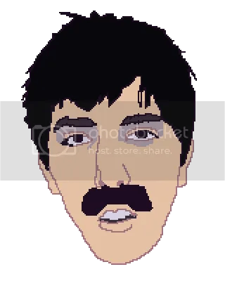 pixel portrait of jason