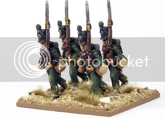 Painting 95th Rifles