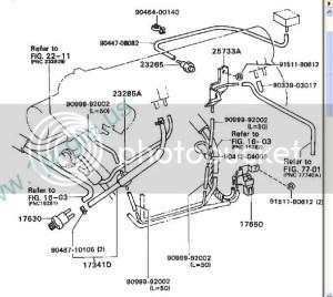 Vacuum hose diagram or instructions needed  ClubLexus  Lexus Forum Discussion