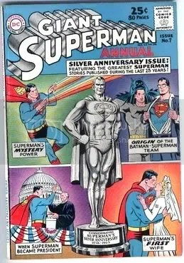 Superman Annual #7 high grade comic book