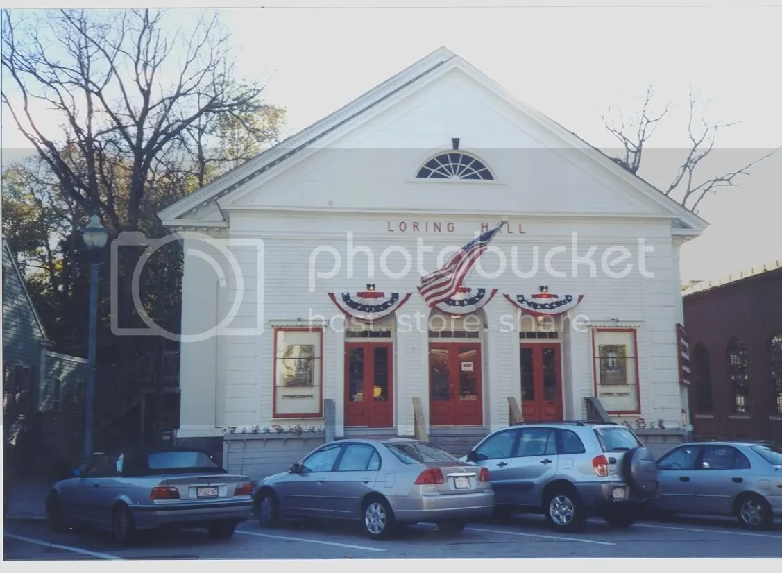 Comments about Loring Hall in Hingham MA  Cinema Treasures