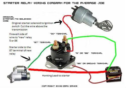 mk1 golf starter motor wiring diagram