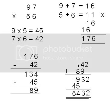 Snippets of this and that: Karatsuba Multiplication