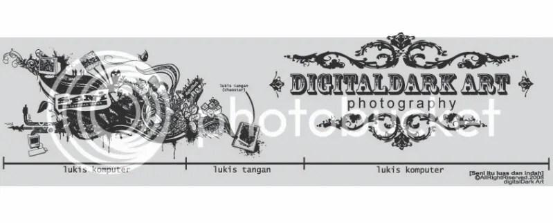 digitalDark Art photoscene: Panorama: Pecah batu, Trong