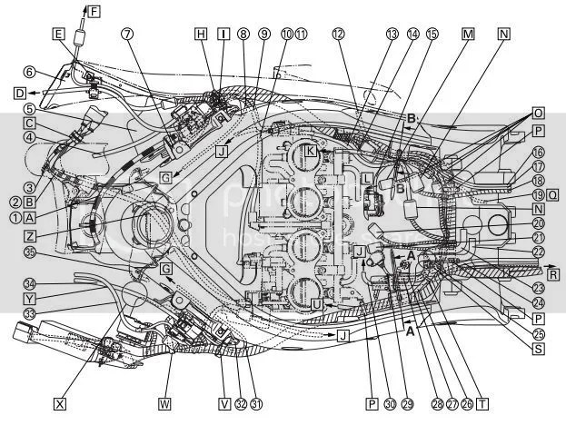 2003 Yamaha R6 Wiring Harness : 29 Wiring Diagram Images