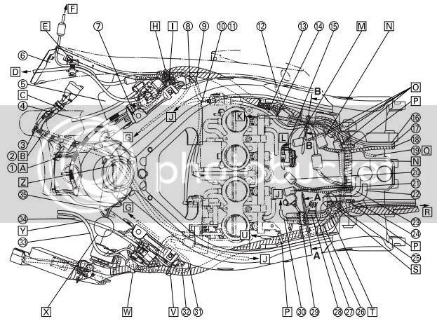 2000 Honda Cbr 600 F4 Engine Diagram. Honda. Auto Wiring