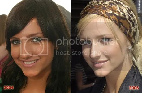 Ashlee Simpson Old and New