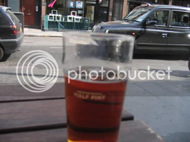 A London pint