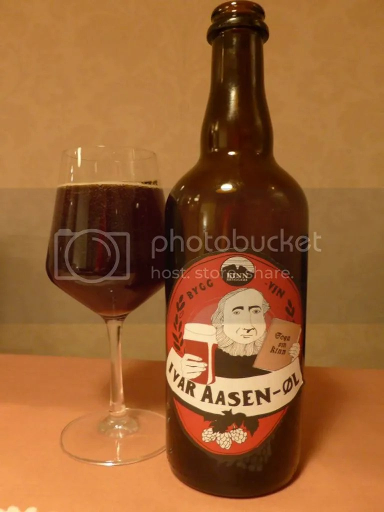 Ivar Aasen bottle and glass