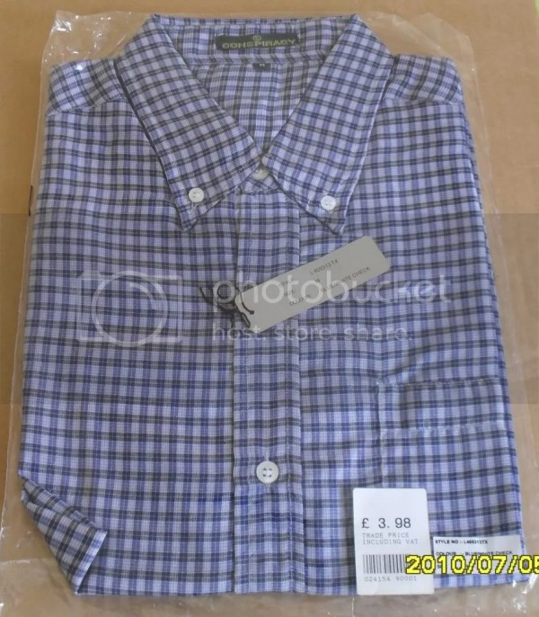 Mens Shirt Cotton Denim Corduroy Trousers 34w 29l Lot