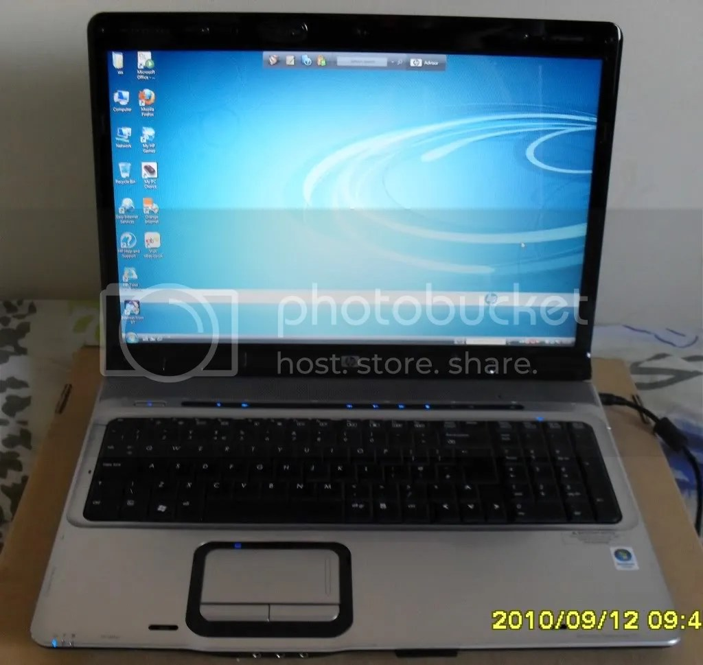 HP DV9500 DV9000 DV9700 LAPTOP 20GHZ 2GB 250GB 17 WIFI  eBay
