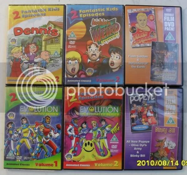 Dvd Movie Pc Games Kids Cartoon Job Lot Set
