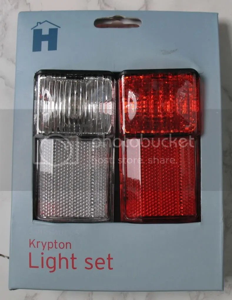 KRYPTON BIKE BICYCLE CYCLE LIGHT FRONT REAR SET SAFTEY  eBay