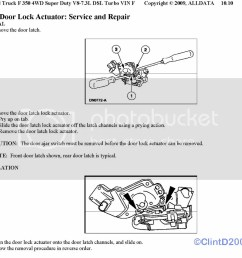 replacing door lock actuators diagram ford truck enthusiasts rh ford trucks com ford f 250 [ 1024 x 918 Pixel ]