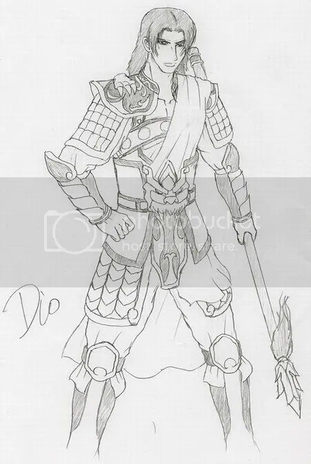 Dynasty Warriors costume design NO.1-Zhao Yun • The