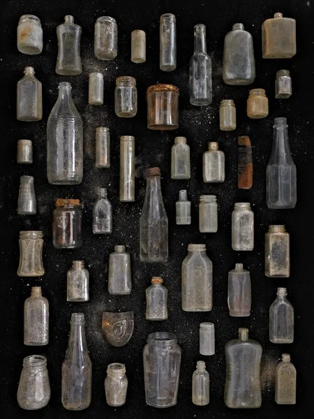 Clear Glass Jars and Bottles by Barry Rosenthal