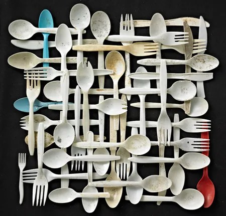 Forks Knives Spoons by Barry Rosenthal
