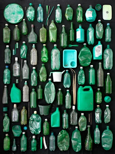 Green Containers by Barry Rosenthal