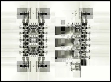 Fractal Image 2766 by Jock Cooper