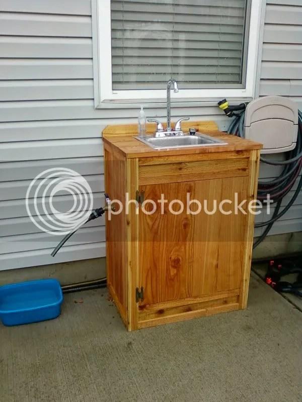 Ideas For Outdoor Sink?? Survivalist Forum