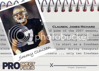 Jimmy Clausen Base