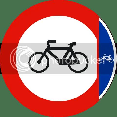 [Nueva señal de carril-bici]