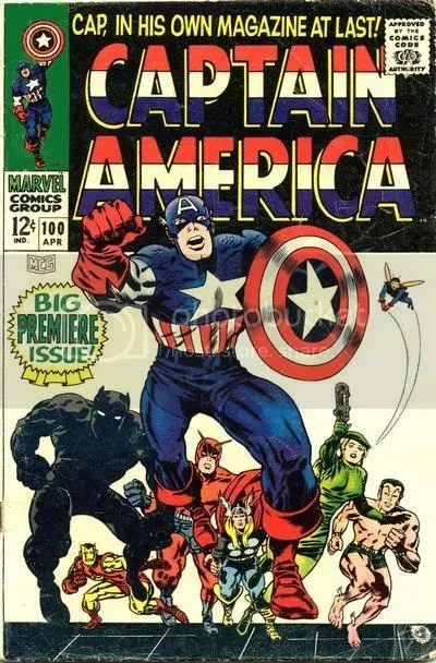 Capitan America by Jack Kirby