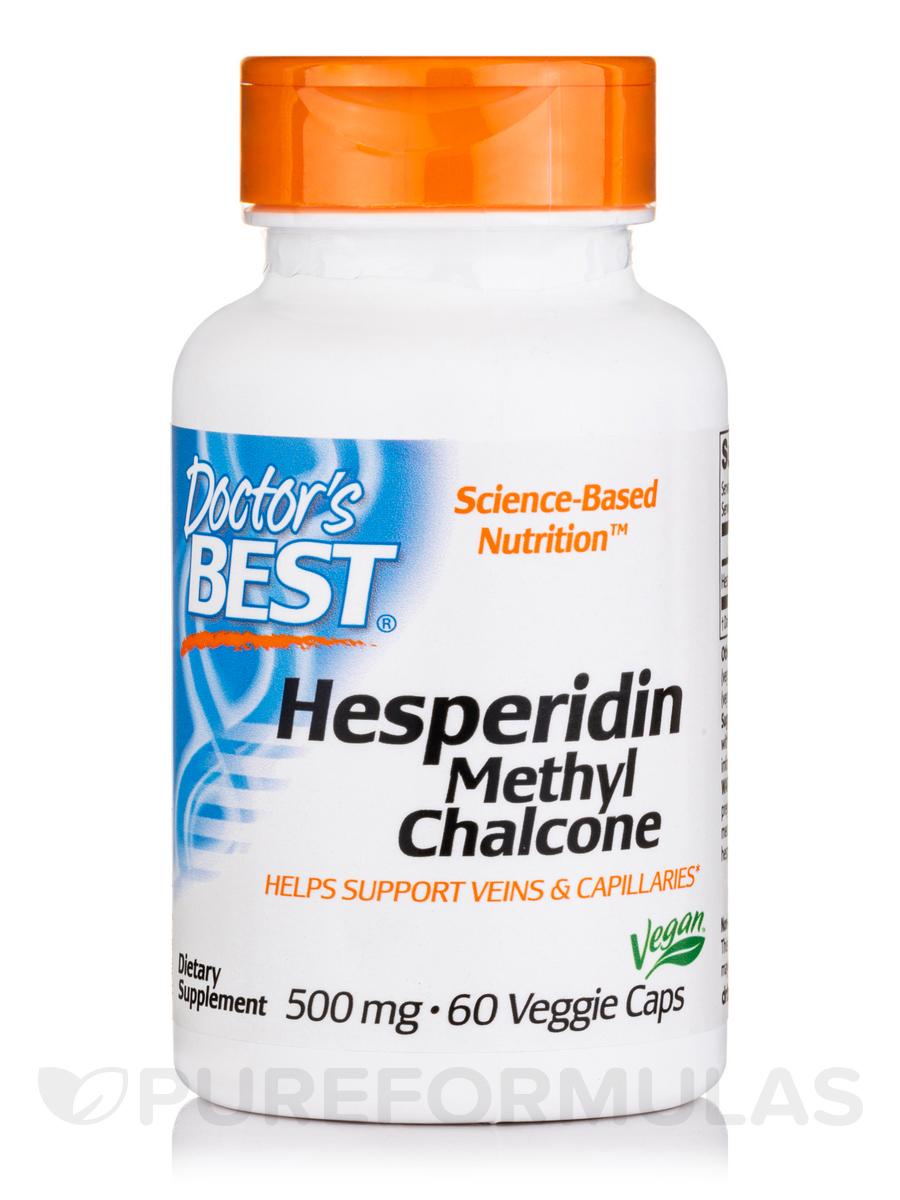 Best Hesperidin Methyl Chalcone 500 mg - 60 Veggie Capsules
