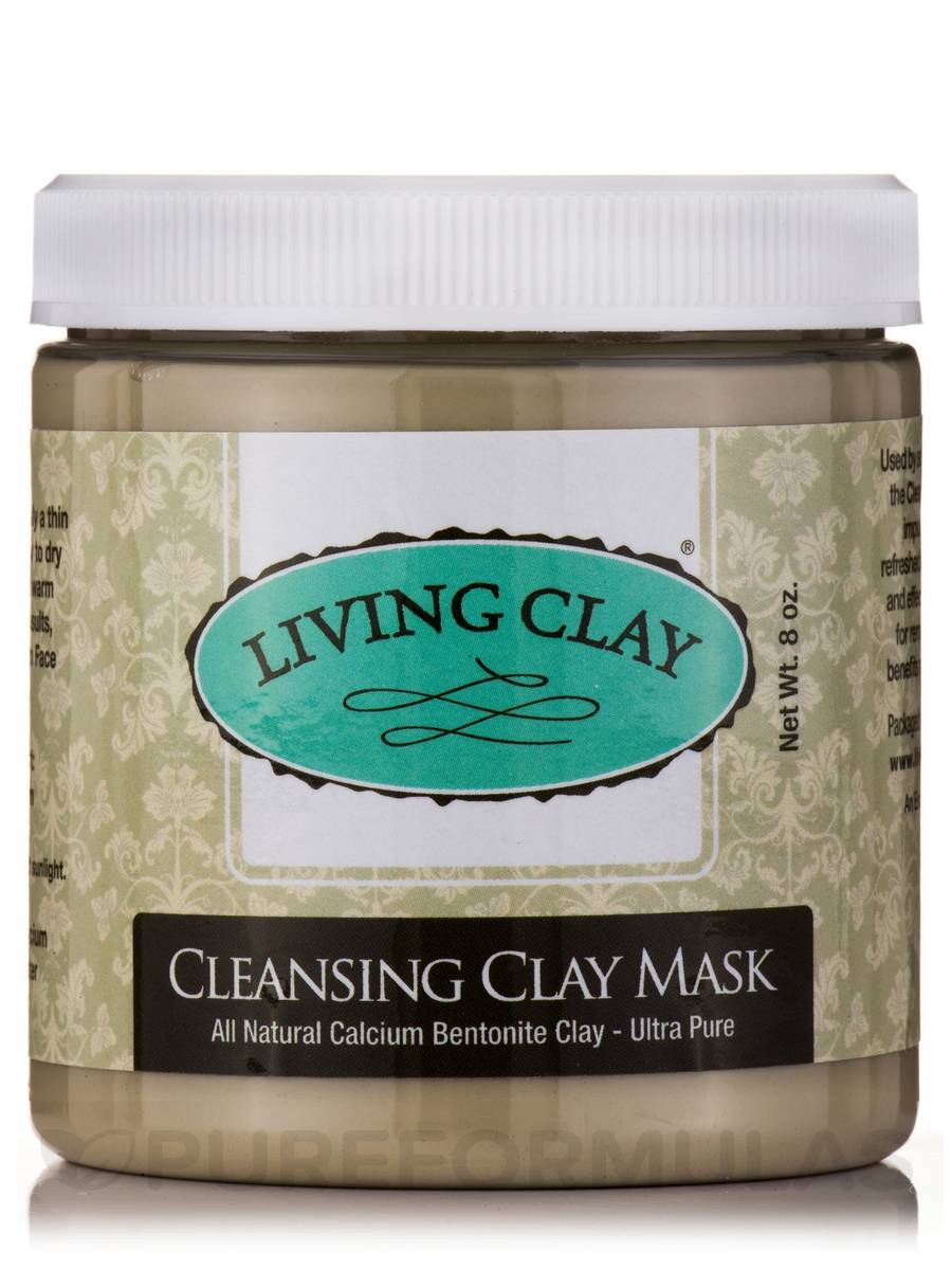 cleansing clay mask 8 oz by living