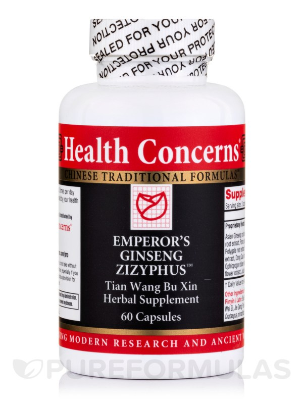 Emperor Ginseng Zizyphus - 60 Tablets