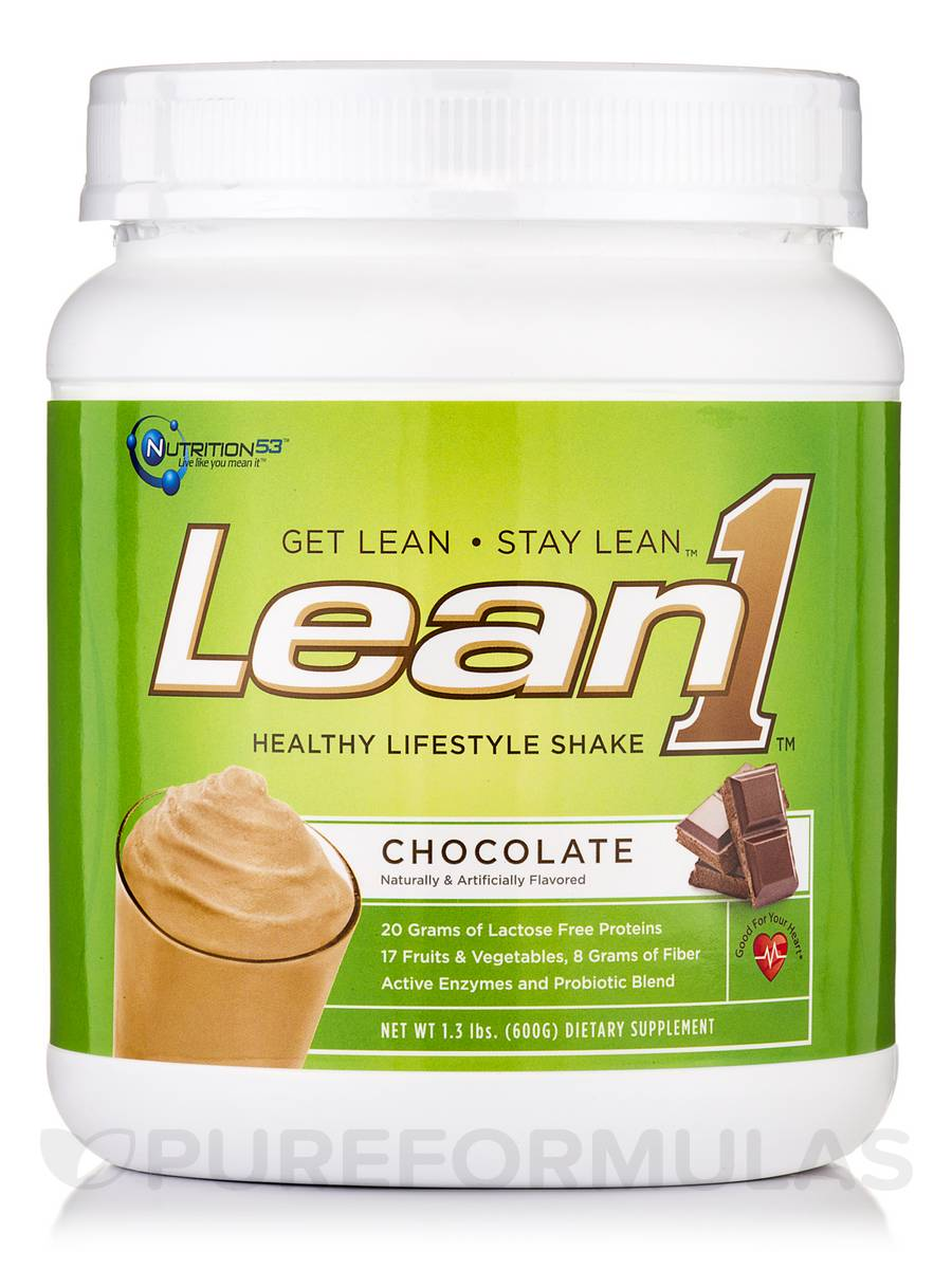 Lean1 Shake Chocolate - 1.3 lbs (600 Grams)