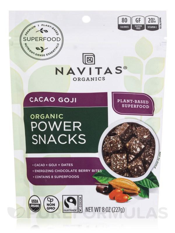 Power Snacks Cacao Goji 8 oz 227 Grams