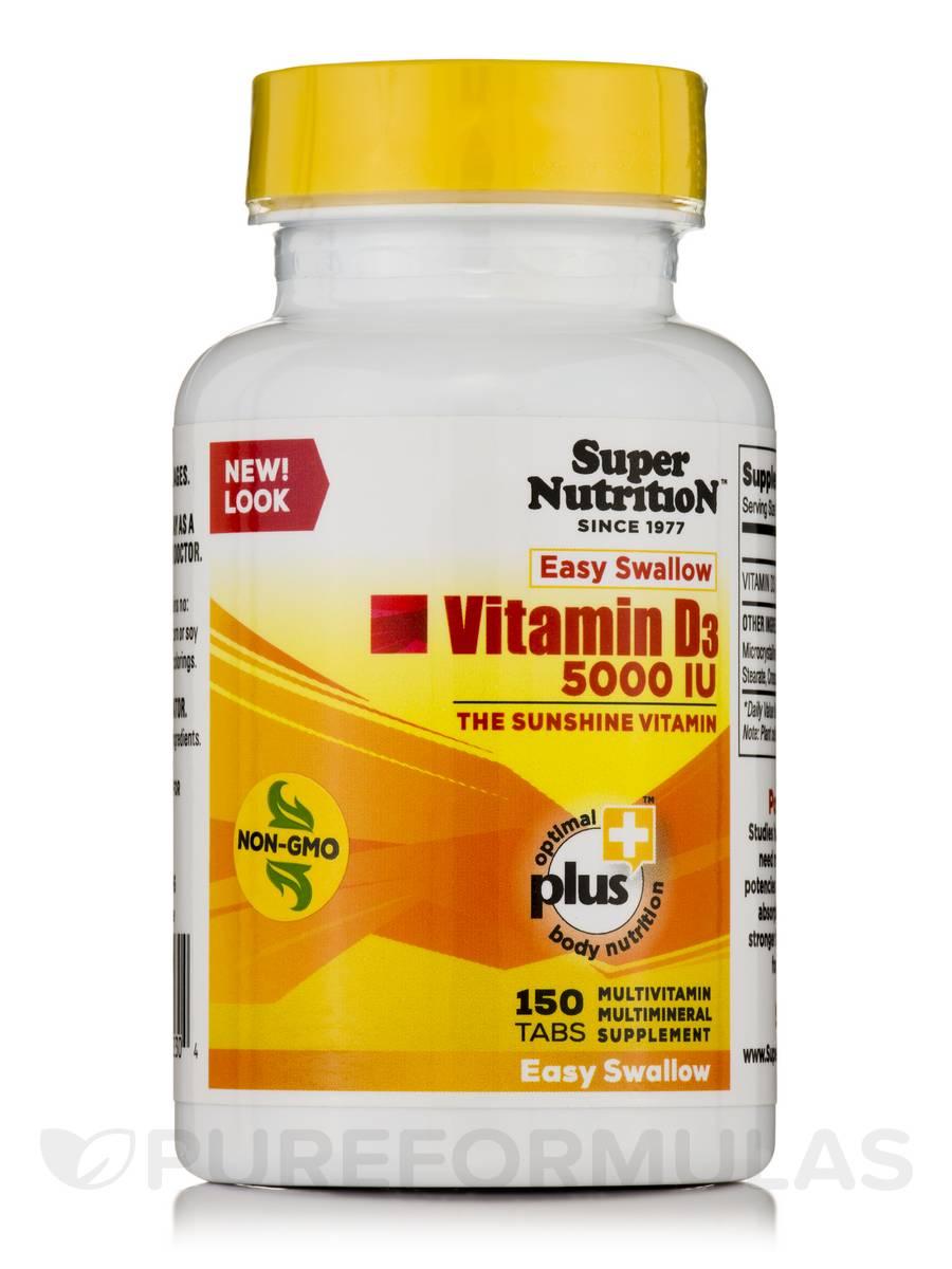 Vitamin D3 5000 IU - 150 Tablets