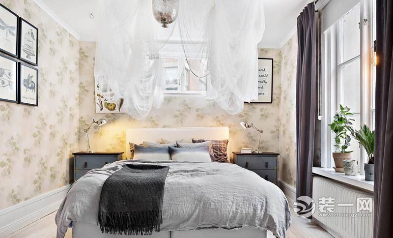 L型格局公寓設計案例 70平米浪漫混搭小窩裝修效果圖 - 壹讀