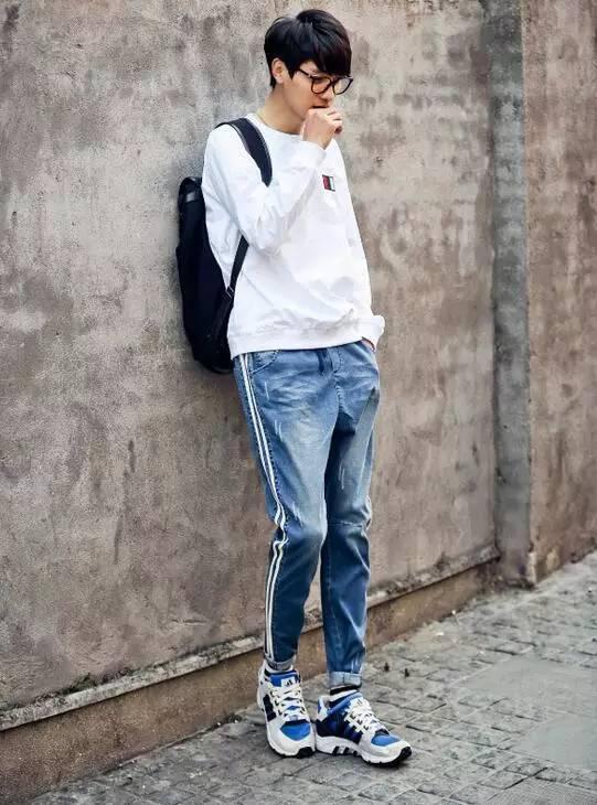 2017男士潮流搭配,男裝牛仔褲搭配圖片! - 壹讀