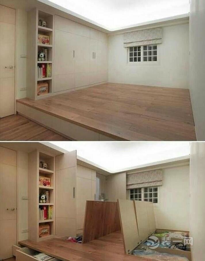 收納一把手 9款室內地臺設計及實木地板儲物地臺做法 - 壹讀