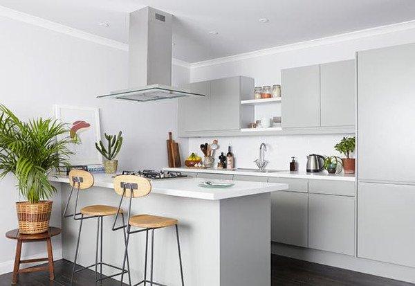 開放式廚房中島吧檯設計的方法 - 壹讀