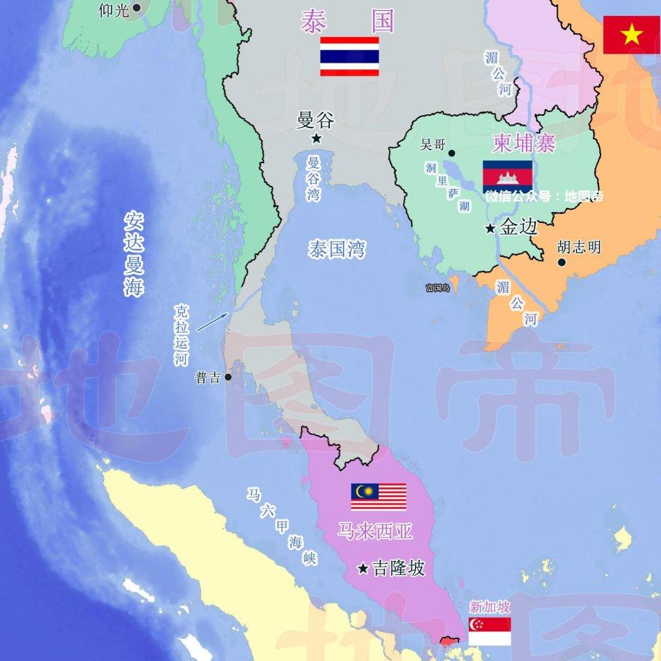 一帶一路,中國幫泰國修世界第一運河,新加坡何去何從? - 壹讀