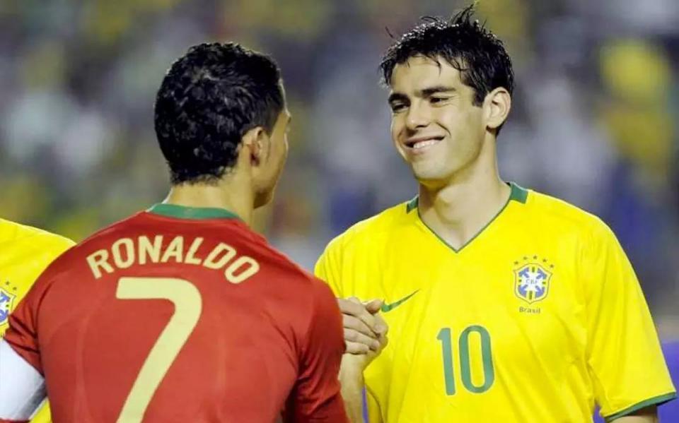 卡卡:不少巴西球員的純足球天賦比C羅高,但他們達不到C羅的成就 - 壹讀
