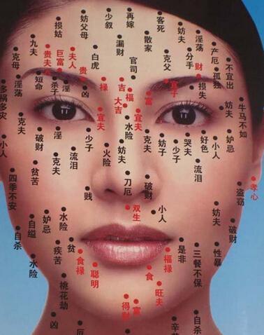 有痣的人你可知道你臉上的痣代表什麼。看看你就知道了 - 壹讀