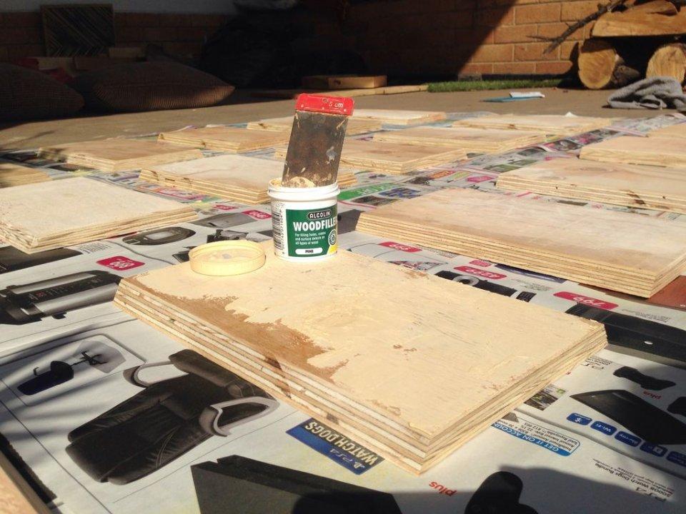 根據蜂巢構造的原理。利用木板製作出堅固的收納架 - 壹讀