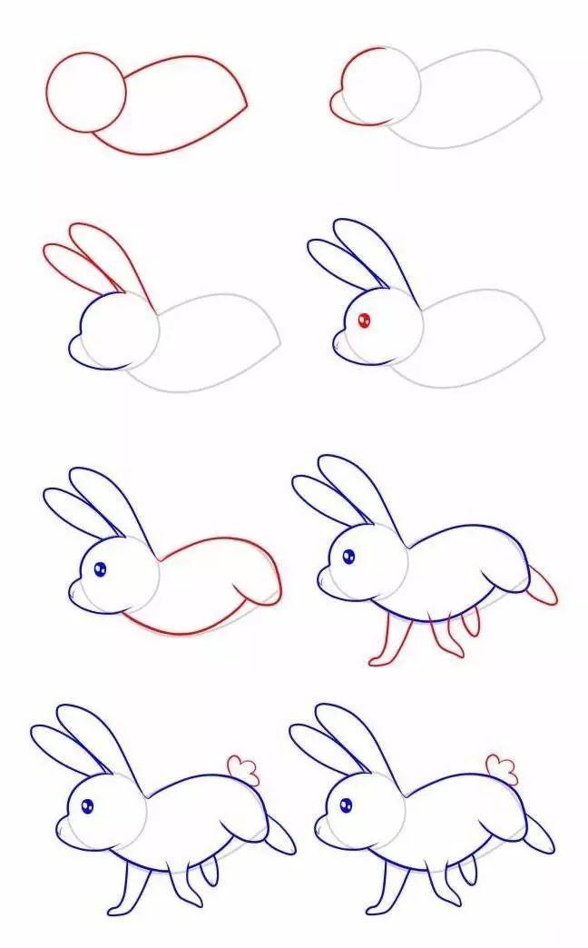 【簡筆畫】十二生肖最簡單和最好看的畫法 - 壹讀