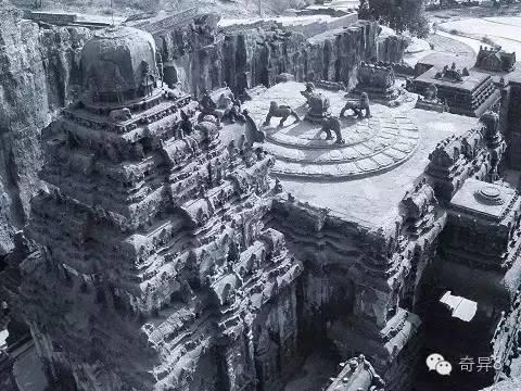 科學無法解釋印度凱拉薩神廟是如何被建造 - 壹讀