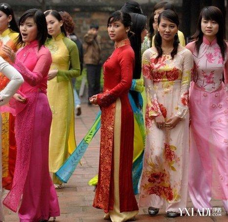 越南的傳統服飾介紹 奧黛盡顯女性魅力 - 壹讀