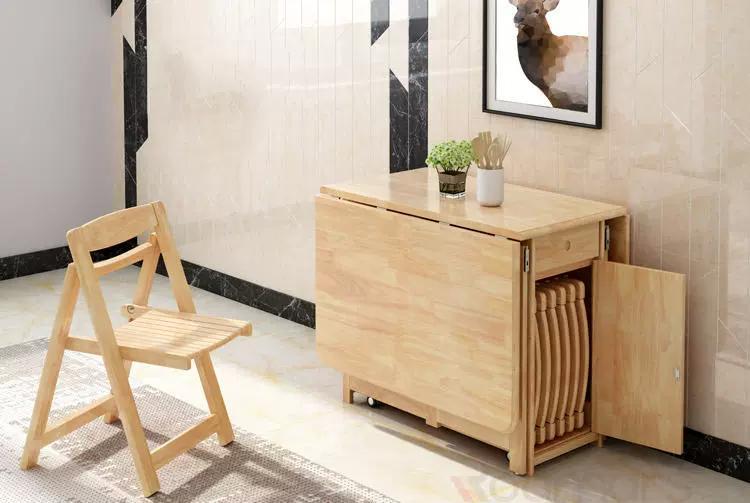 變形餐桌需要時才打開餐桌令客飯廳更有空間感
